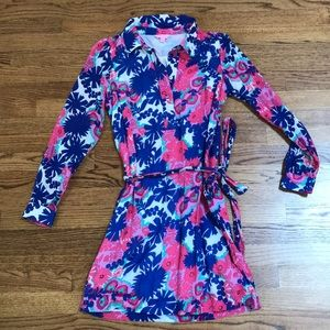 Lilly Pulitzer Belted Shirt Dress - 2